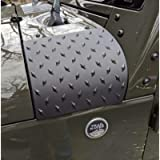 MOEBULB Cowl Body Armor Powder Coated Finish Outer Cowling Cover Compatible for Jeep Wrangler JK Rubicon Sahara Sport X…