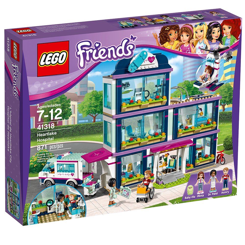 LEGO Friends Heartlake Hospital 41318 Building Kit (871 Piece) by LEGO (Image #5)