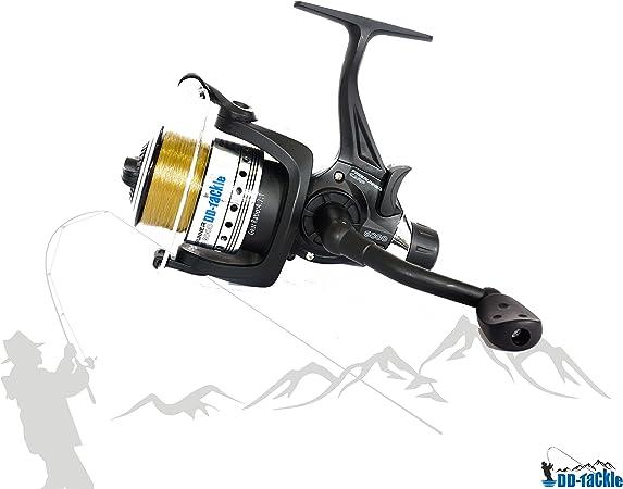 Juego de 3/ca/ñas de pescar para carpas incluye 3/bobinas y 3/indicadores de picada y tr/ípode 3,60/m