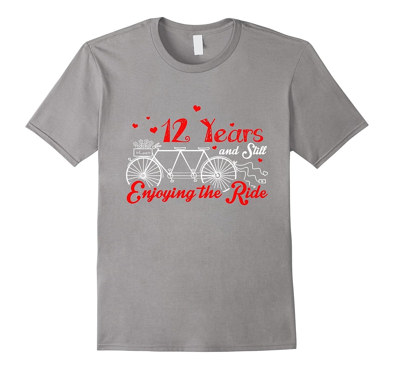 Gift For 12 Year Wedding Anniversary: 12 Years Together 12th Wedding Anniversary Gift Idea T