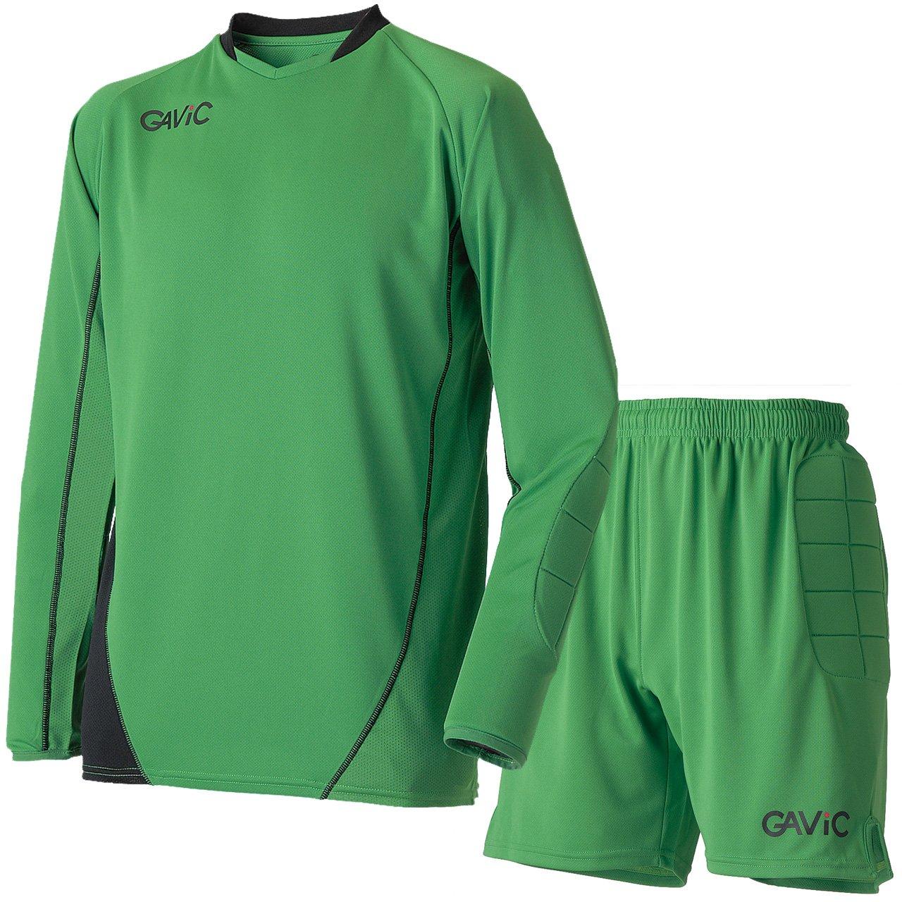 ガビック(GAViC) キーパートップ&パンツ 上下セット(グリーンブラック/グリーン) GA6302-GRNBLK-GA6402-GRN B076P74ZKL M|グリーンブラック×グリーン グリーンブラック×グリーン M