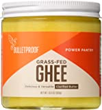 Bulletproof - Grass-Fed Ghee, Quality Fat from Pasture-Raised Cows, 13.5 oz