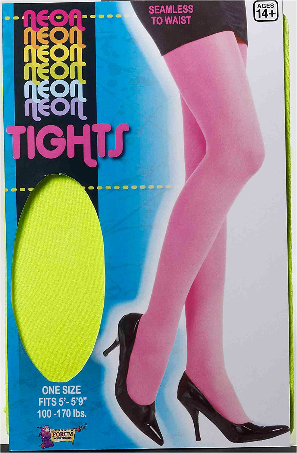 Forum Novelties Womens Novelty Solid Color Tights