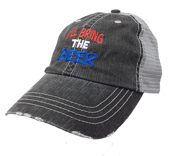 Hat Hair Womens I ll Bring The Beer Adjustable Trucker Meshback Hat ... 42abb9777