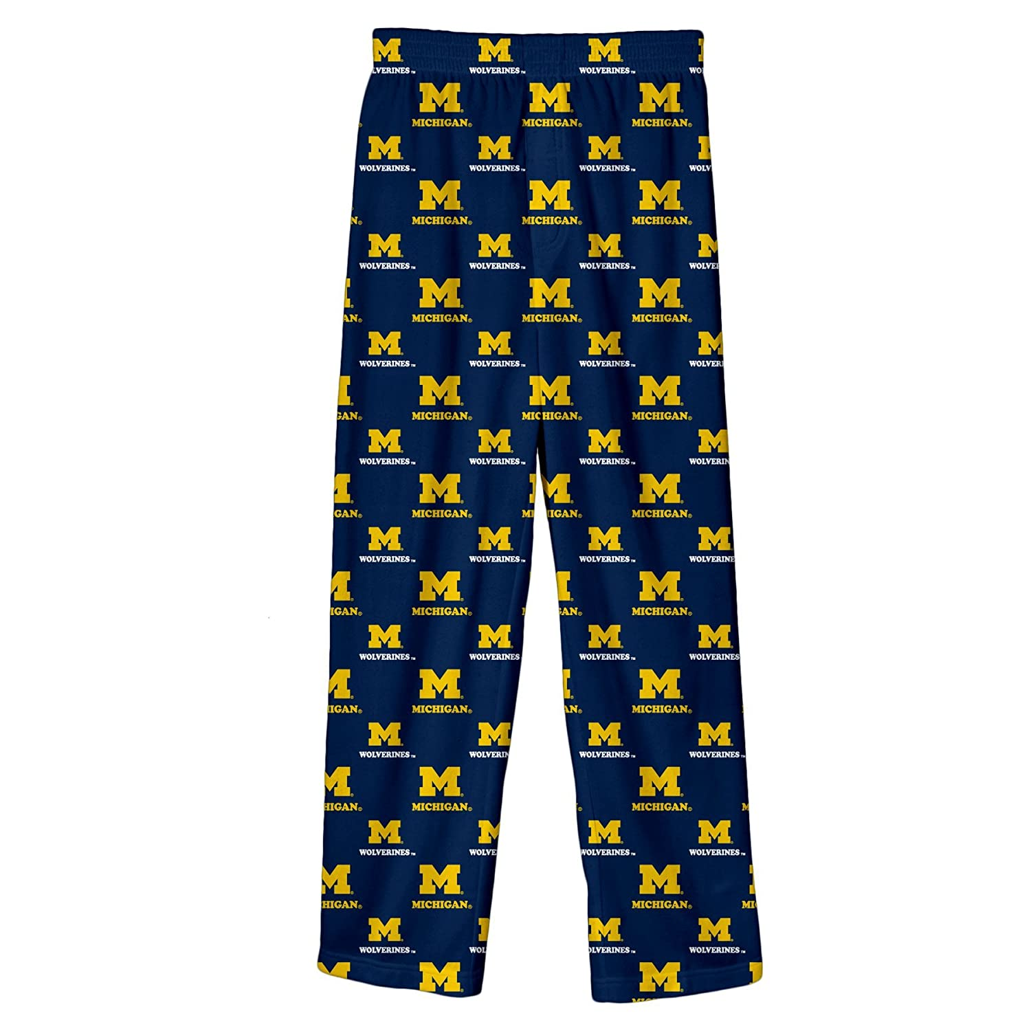 3T NCAA by Outerstuff NCAA Michigan Wolverines Toddler Team Color Printed Pant Dark Navy