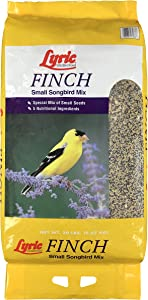 Lyric 2647408 Finch Small Songbird Wild Bird Mix, 20 lb