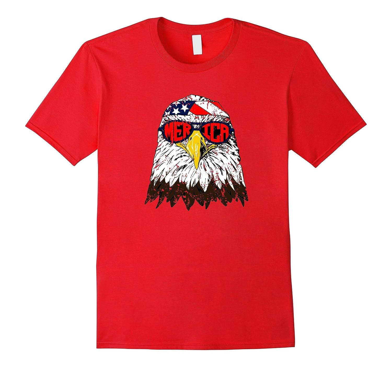 Merica Bald Eagle Shirt-Vaci