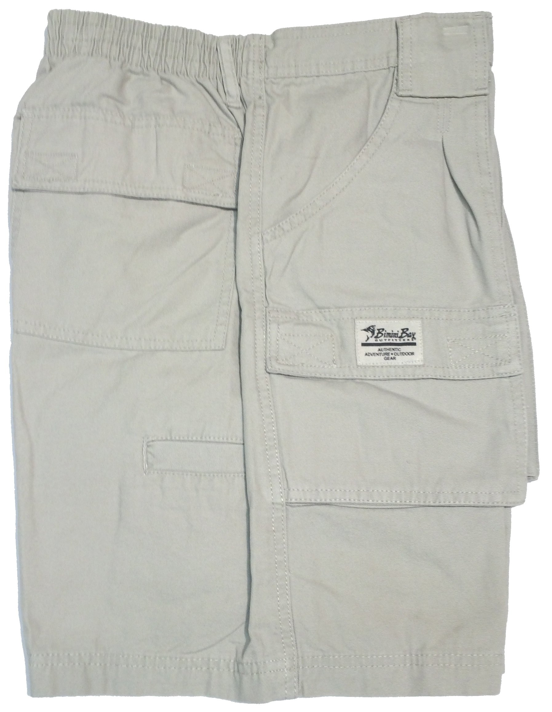 Bimini Bay Outfitters Outback Hiker Cotton Cargo Short (2-Pack) (32, Sand) by Bimini Bay Outfitters