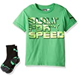 Amazon Price History for:PUMA Boys' 2-Piece Graphic Tee and Sock