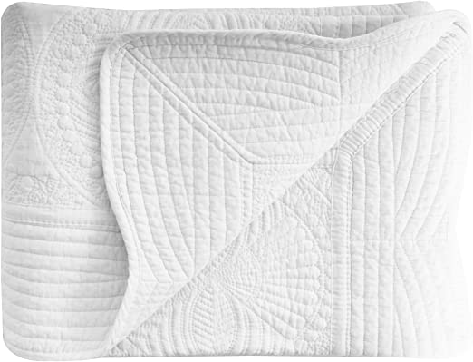 Baby Infant Soft Blankets All Weather Lightweight Embossed Quilt Khaki
