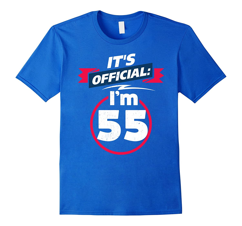 55 Year Old T Shirt 55th Birthday Present Idea Tee PL