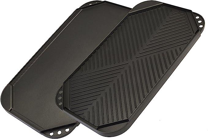 Ecolution Reversible Non-Stick, Dishwasher Safe, Double Burner - Best Design