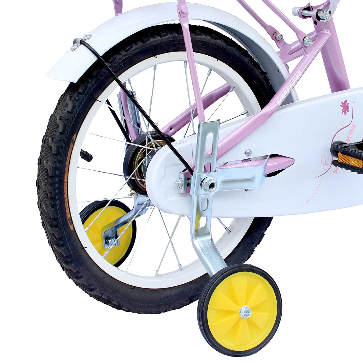 Adjustable Kids Bicycle Bike Training Wheels Fits 12 to 20 by CyclingDeal