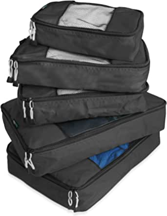 TravelWise Luggage Packing Organization Cubes 5 Pack
