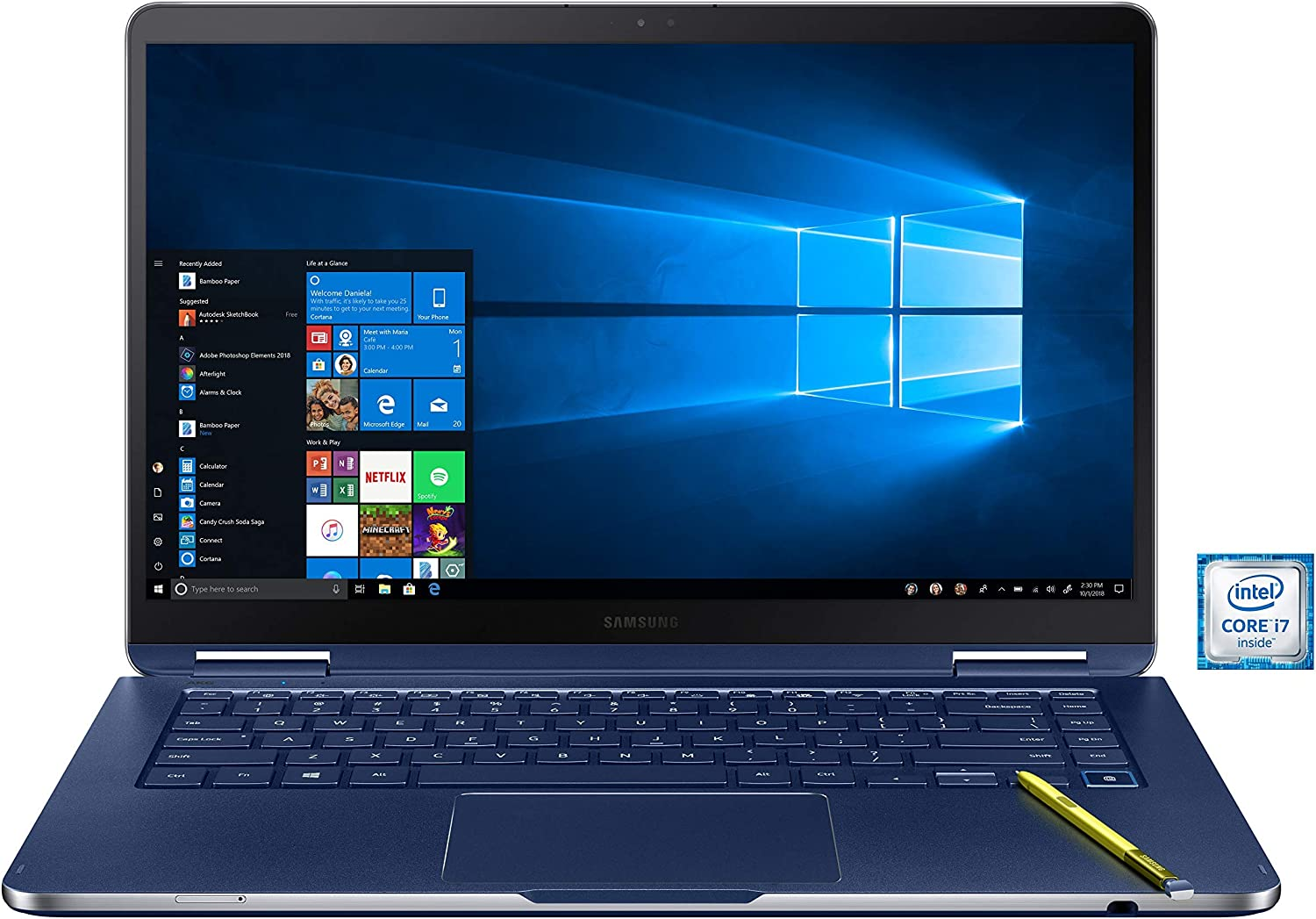 "Samsung Notebook 9 Pen 15""-Intel Core i7-16GB Memory-512GB SSD (Renewed)"
