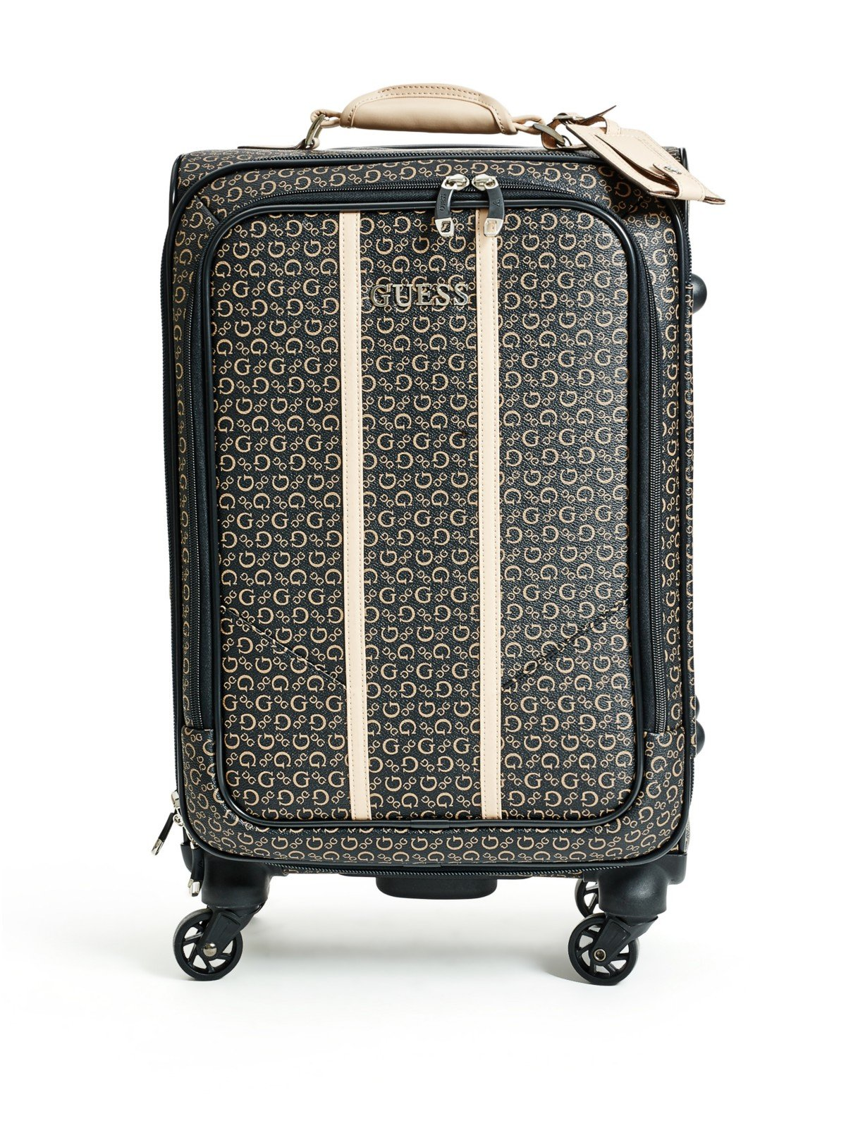 GUESS Factory Women's Nichols Four-Wheel Roller Suitcase by G By Guess