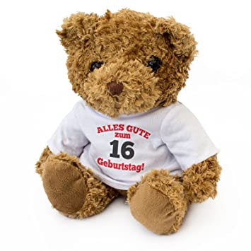 New Alles Gute Zum 16 Geburtstag Teddy Bear Cute And Cuddly