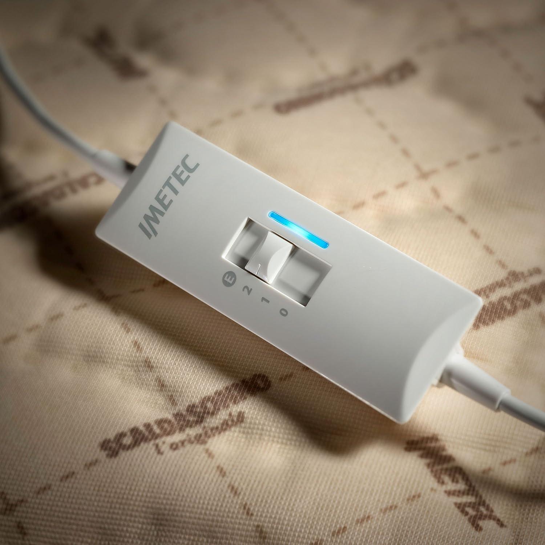 Imetec Scaldasonno Express Calentador de cama eléctrico 200W Beige Tela - Manta eléctrica (150 mm, 160 mm, Tela, Lavado a máquina, 40 °C): Amazon.es: Salud ...