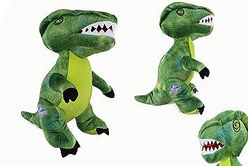 Jurassic World XXL Dinosaur verde Velociraptor Peluche Plush 60 cm