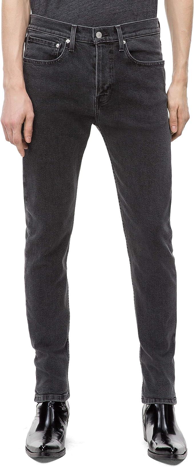 Calvin Klein 卡尔文克莱因 CK 男式紧身牛仔裤 3.8折$29.99 海淘转运到手约¥250