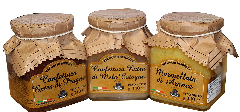 Confection 3 mermeladas caseras | El paquete contiene mermelada de membrillo, ciruelas y mermelada de naranja Producto artesanal ideal para desayunos ricos ...