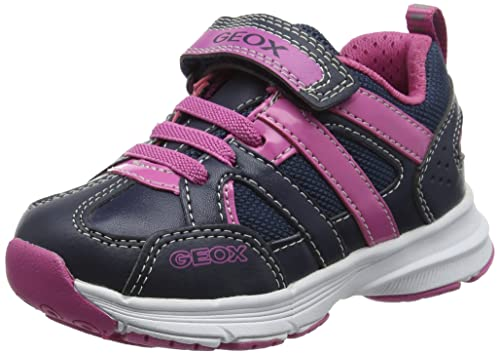 Geox J Top Fly A, Sneakers Basses Fille