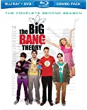 The Big Bang Theory: The Complete Second Season [Blu-ray + DVD]