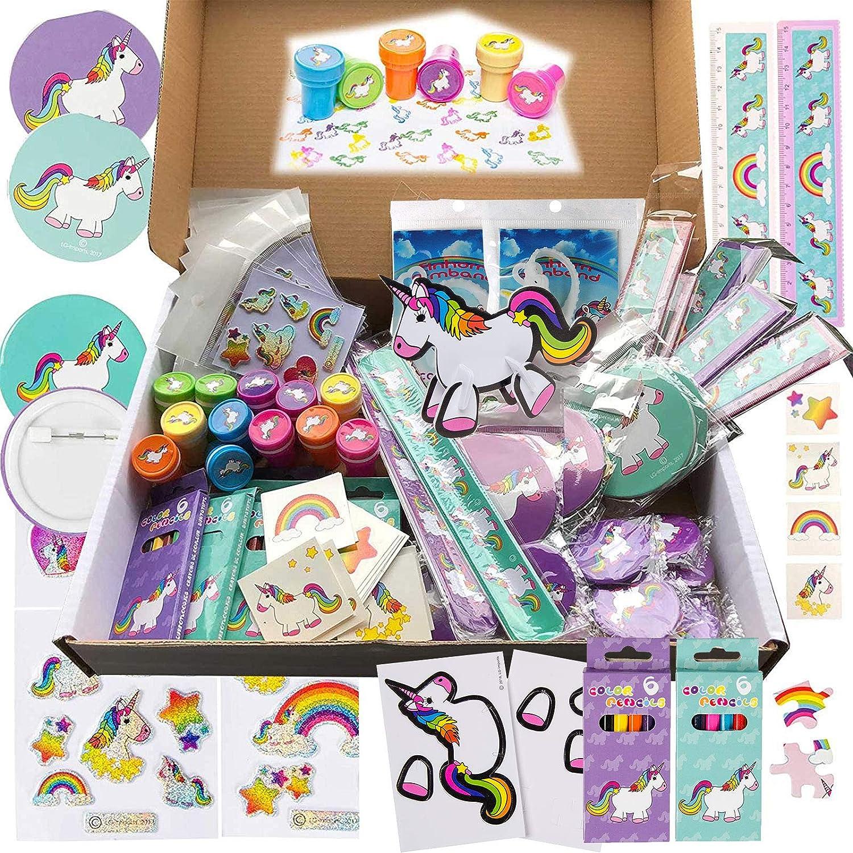 Einhorn-Party mit 100 Kleinspielwaren