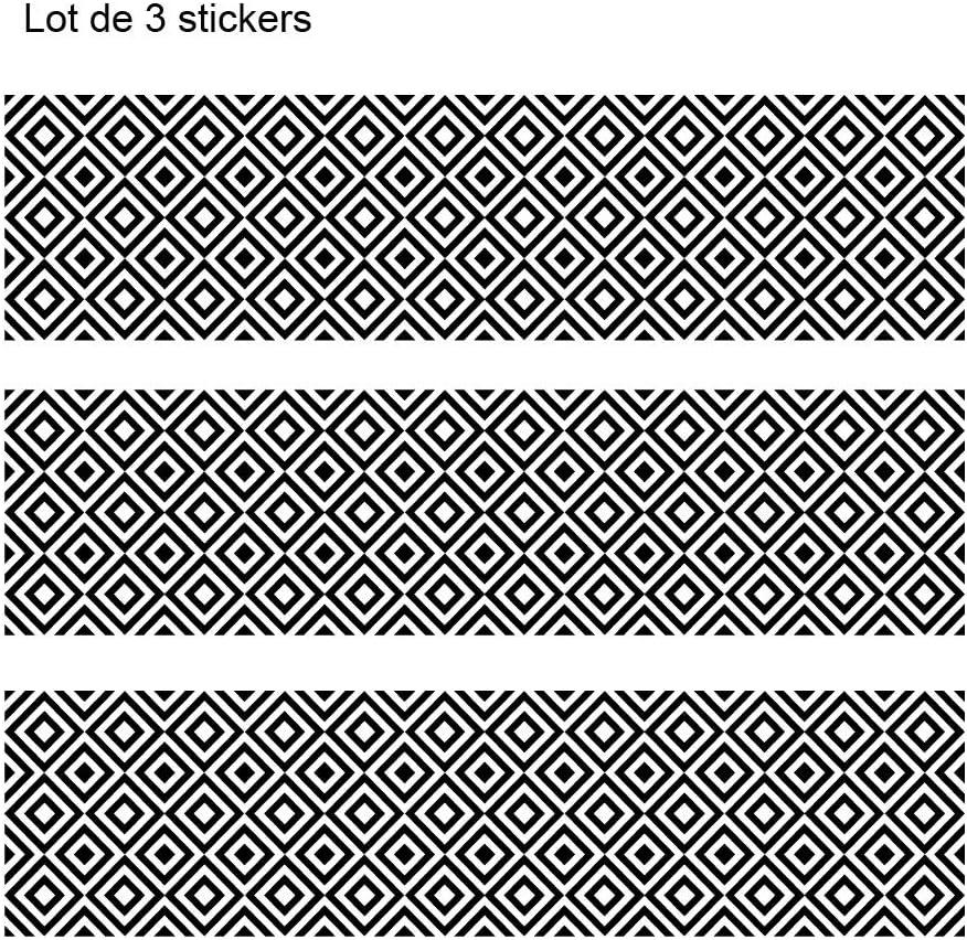 Mod/èle Ethnique Lot de 3 Stickers Adh/ésif pour Meuble IKEA MALM