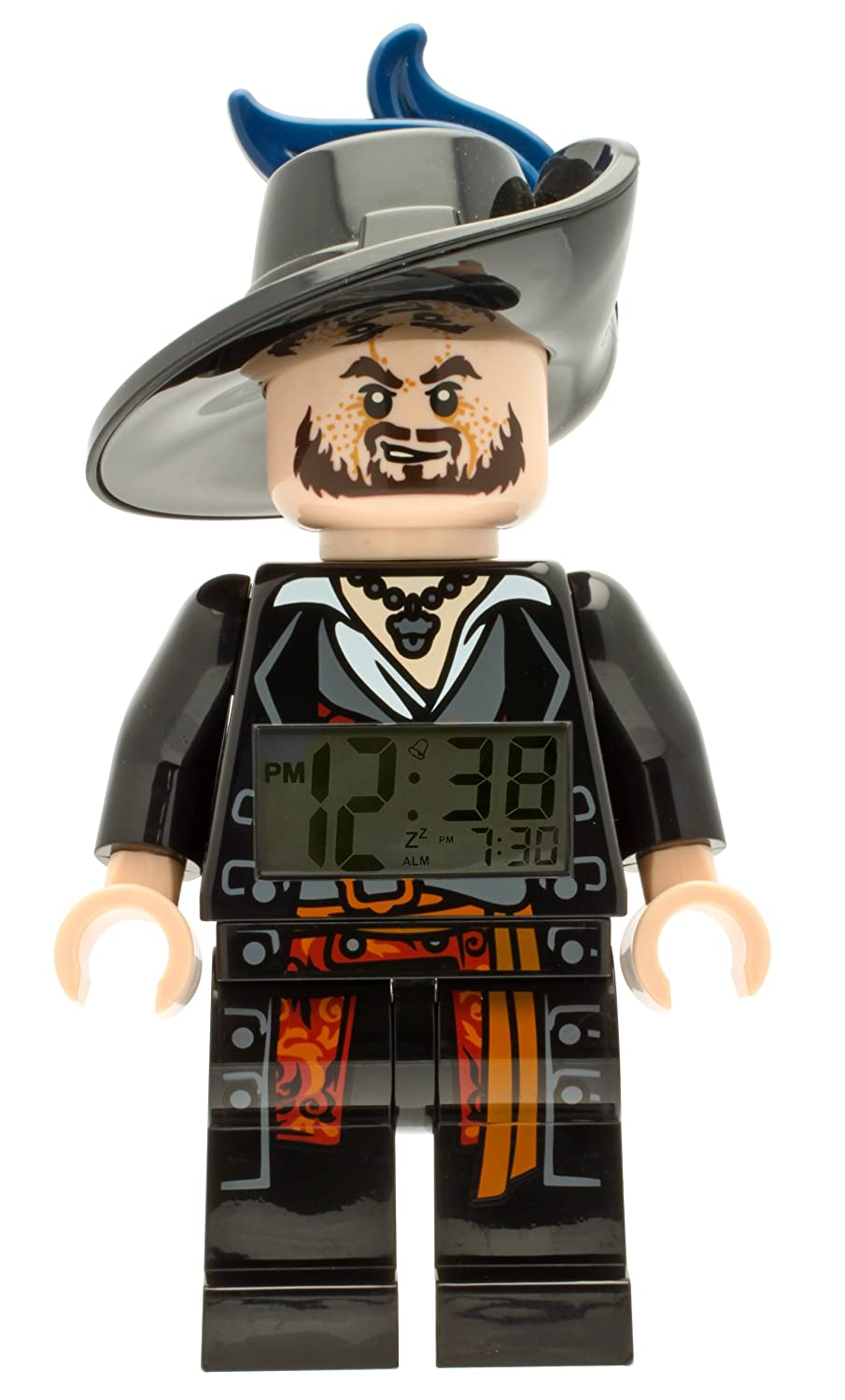 LEGO Pirates of Caribean Barbossa die Figur Uhr