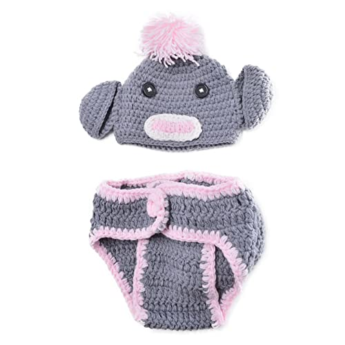 Crochet Baby Diaper Cover And Hat Amazon