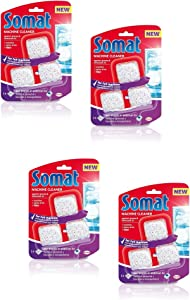 Somat In-Wash Machine Cleaner & Descaler - 12 BLOCKS (3 x 4)