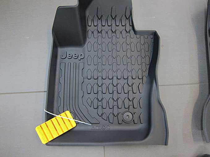 Amazon.com: Jeep Compass Slush Style All Weather Floor Mats MY Body Style Mopar OEM: Automotive