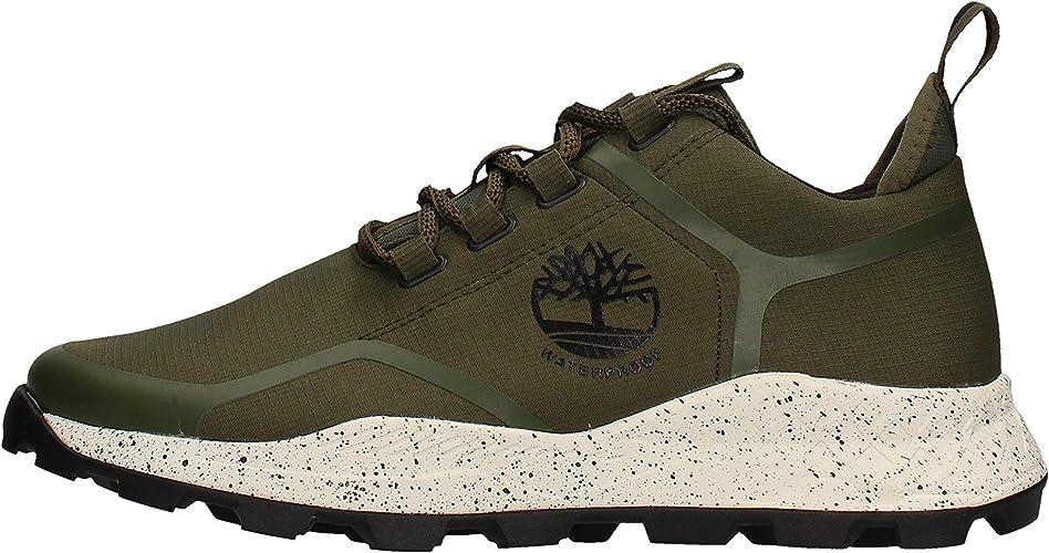 Timberland Brooklyn Oxford Sneaker Verde da Uomo A27SW