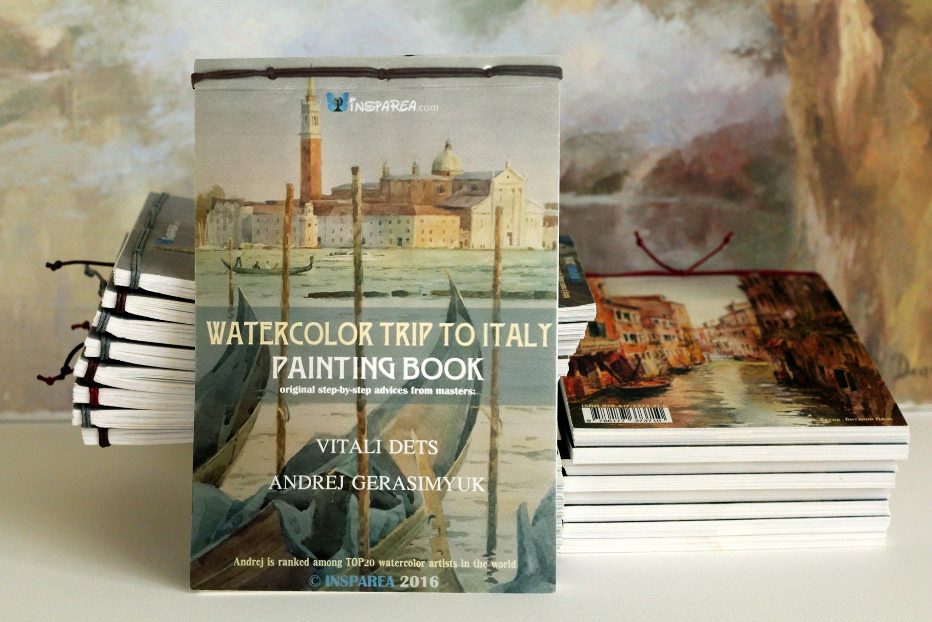 Watercolor artist magazine subscription - Watercolor Trip To Italy Painting_book Vitali Dets Andrej Gerasimyuk 9786177373901 Amazon Com Books
