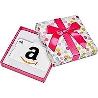 Amazon.ca Gift Card in a Dot Box (Classic White Card Design)
