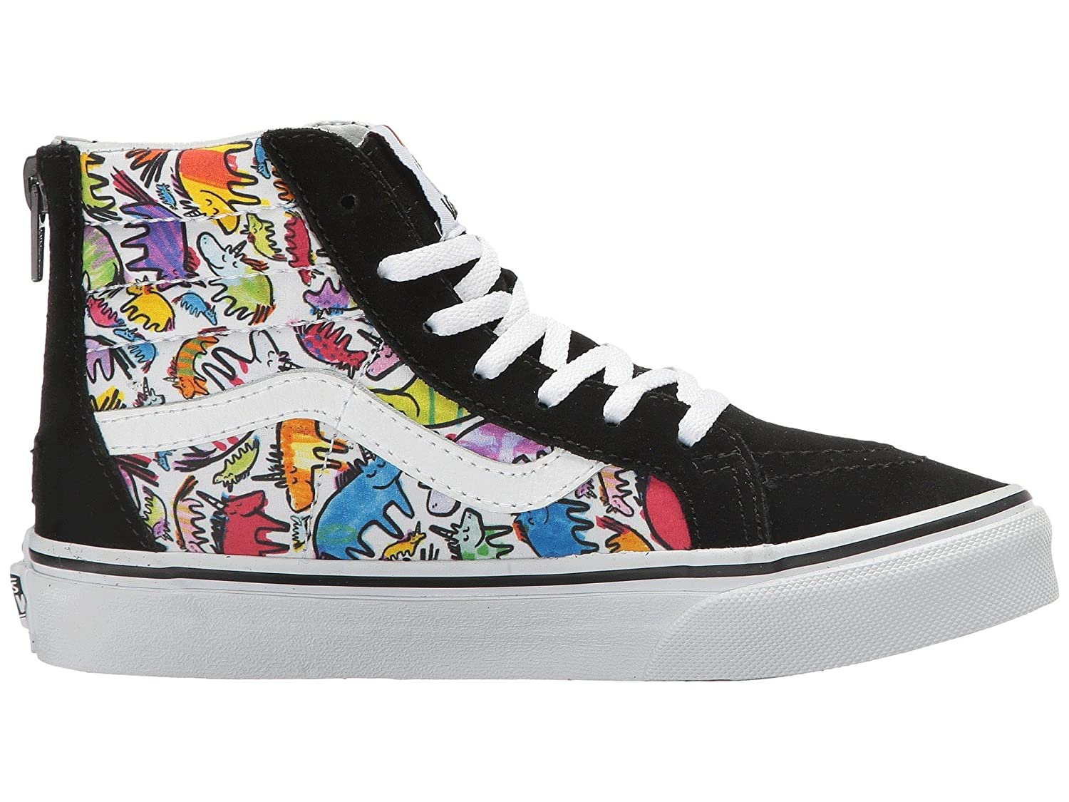 57ffe14387a6e Vans Dallas Clayton Unicorn SK8 Hi Zip kids youth Shoes Size 10.5