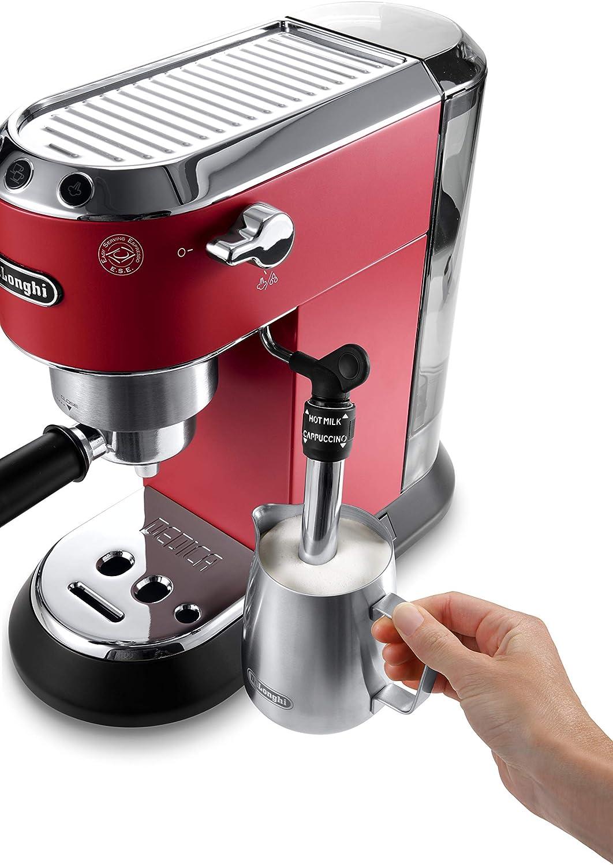 Amazon.com: DeLonghi Dedica Deluxe Bomba Espresso machine ...