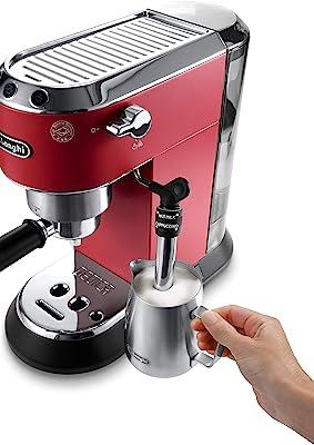Espressomaschine im Angebot: DeLonghi EC 685.R Dedica Style