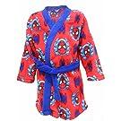 Marvel Spider-Man Boys Red & Blue Soft Fleece Bathrobe Dressing Gown Gift Set