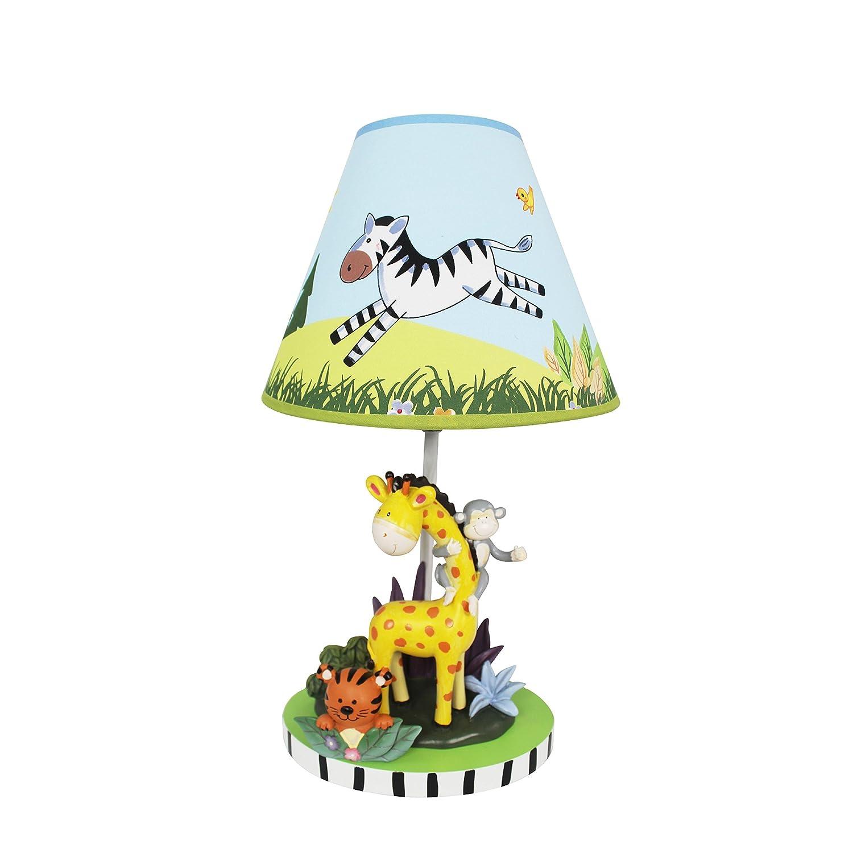 Amazon.com : Fantasía Campos - Sunny Safari lámpara de mesa : Baby