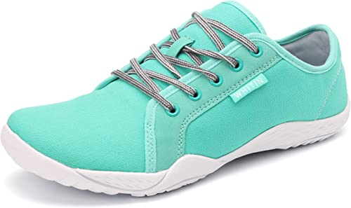 amazing selection later lowest price Amazon.com | JOOMRA Women's Canvas Barefoot Sneakers Minimalist ...