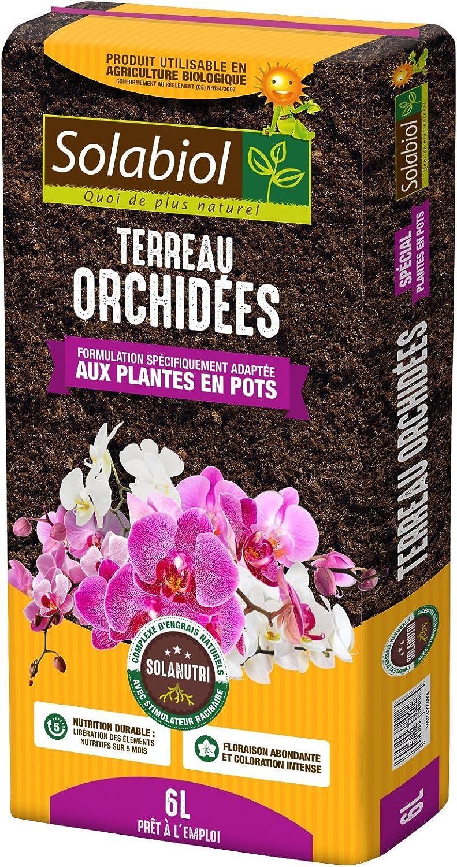 Solalbiol Terolc6 - Tierra orquídeas (6 L), Color marrón