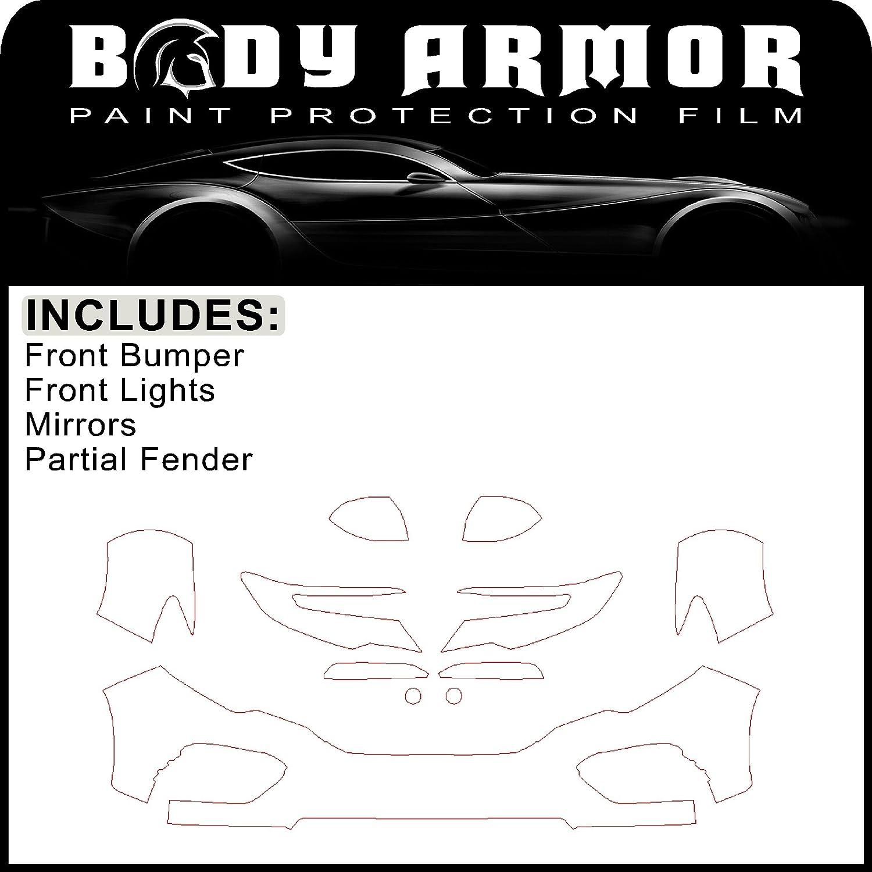 "VViViD Armour ppf paint protection film 48/"" x 12/"" clear bra self healing wrap"