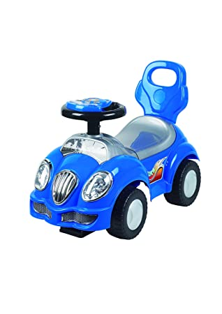 ANDADOR COCHE RIDE ON CAR ALPHA AZUL CHIPOLINO: Amazon.es ...