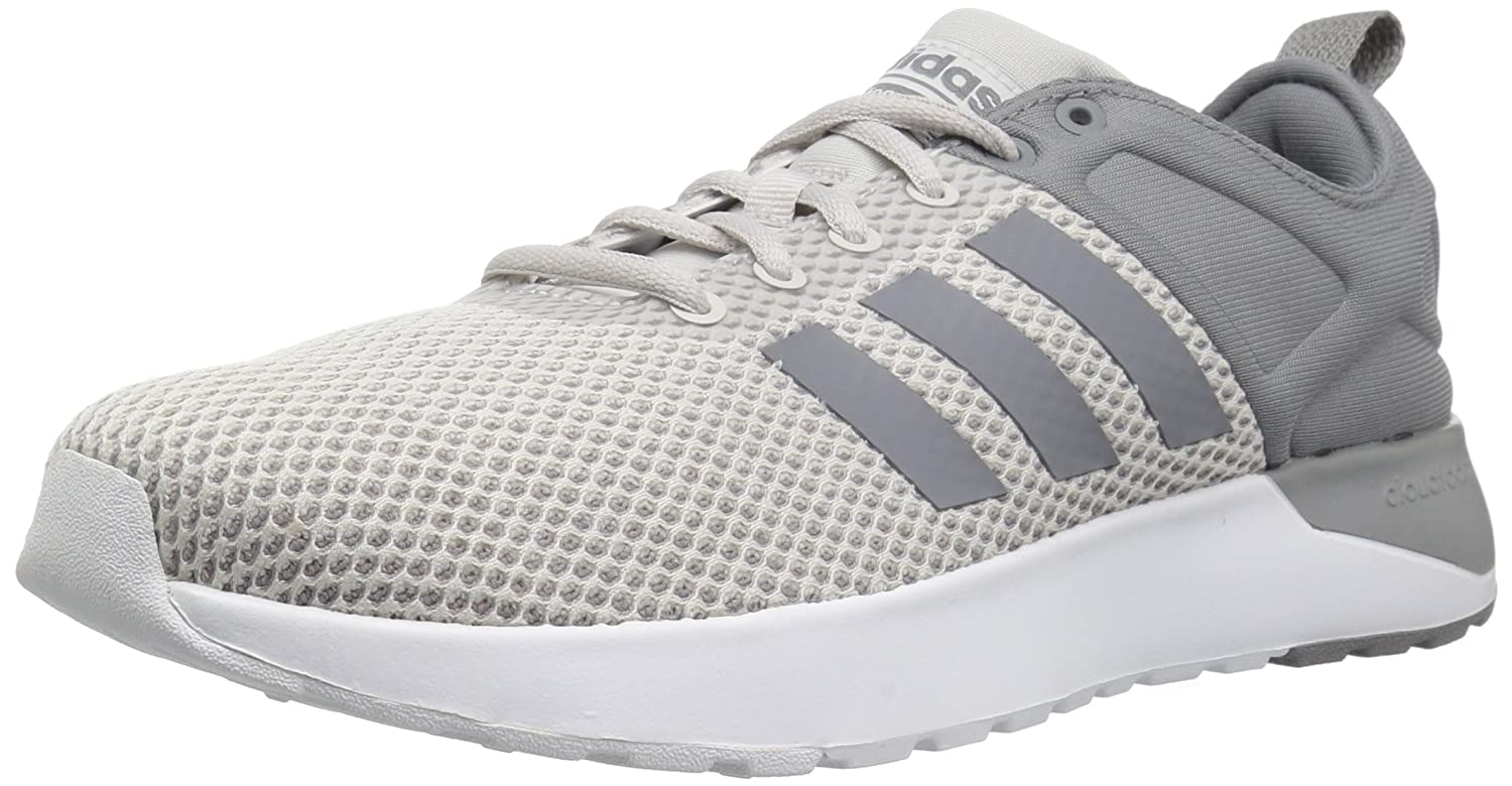 1ea2095c73eb Adidas Neo Mens CF Super Racer Running Shoes Grey One Grey Three White  beautiful and engaging 89H727