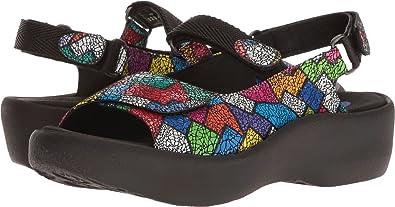 c10880e01b Wolky Womens 3204 Jewel Picasso Crash Multi Sandal Size  36 B EU ...