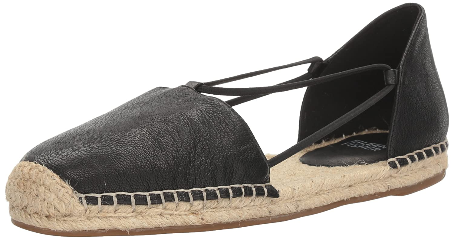 Eileen Fisher Women's Lee-Lt Flat B01MAY33J2 10 B(M) US|Black