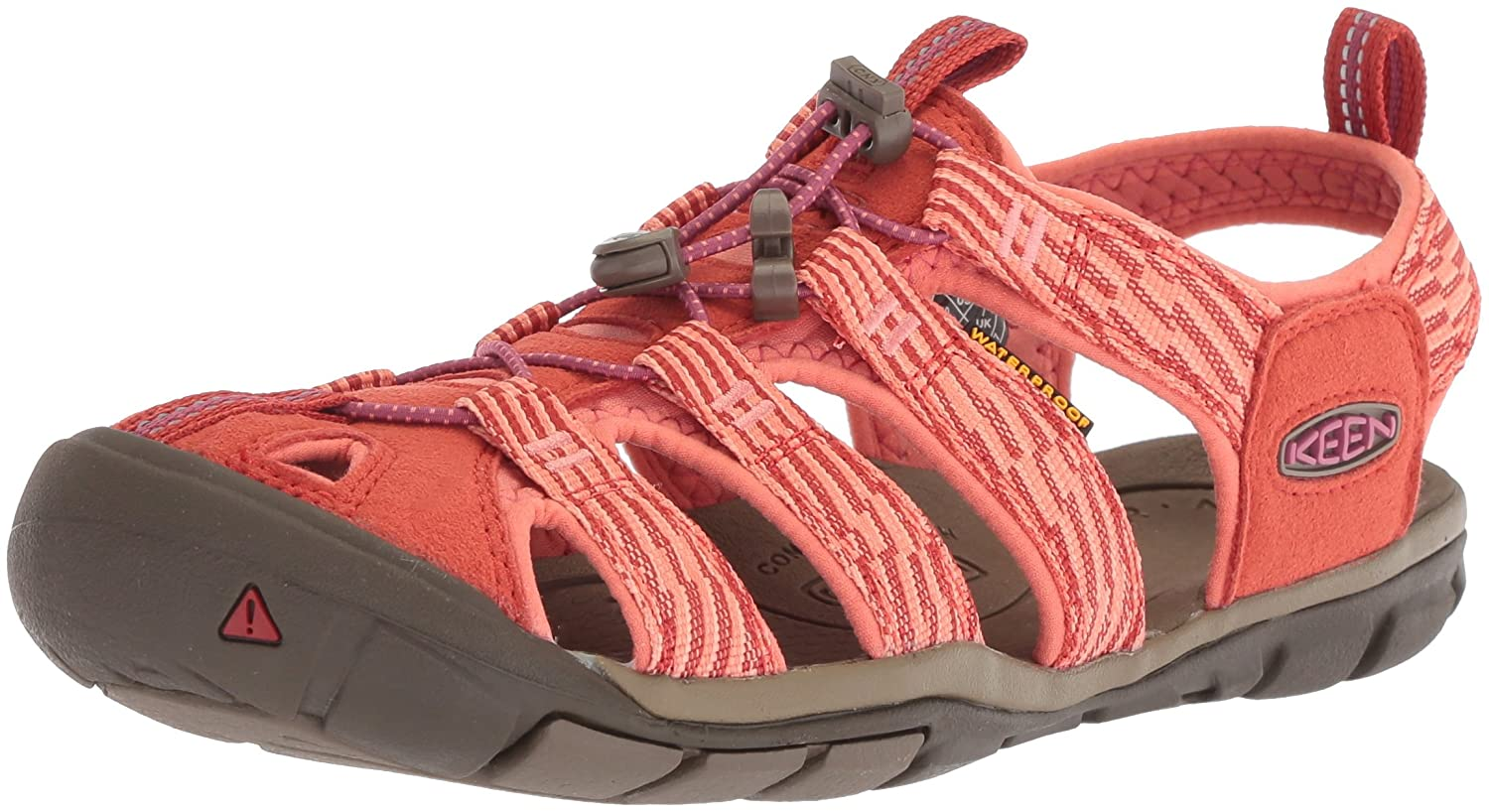 KEEN Women's Clearwater CNX-W Sandal B071CKWLVQ 8 B(M) US|Summer Fig/Crabapple