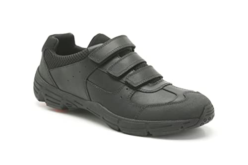 Clarks Boys School Air Surrey Bl Leather Shoes In Black Standard Fit Size  7: Amazon.co.uk: Shoes & Bags